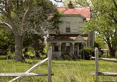 Abandoned old farm house.