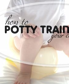 Potty Train your Child in 1 week...starting at 12 months isn't too early, is it? ;)