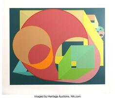 Prints:Contemporary, Al Held (American, 1928-2005). Scholes I, 1991. Silkscreenin colors. 23-1/4 x 29 inches (image). 29 x 34 inches (sheet)...