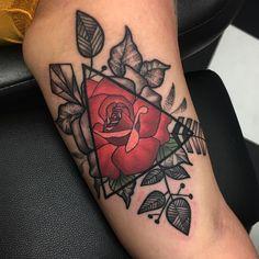 Rose Tattoos For Men, Love Tattoos, Black Tattoos, Body Art Tattoos, New Tattoos, Tattoos For Guys, Viking Tattoo Symbol, Viking Tattoos, 1 Tattoo