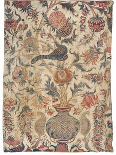 Large fragmentary chintz palampore, India for the Dutch market, ca. 1720