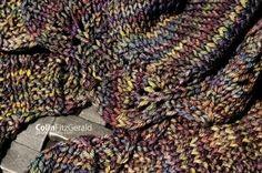 Double Leaf Saroyan shawl ..free pattern download