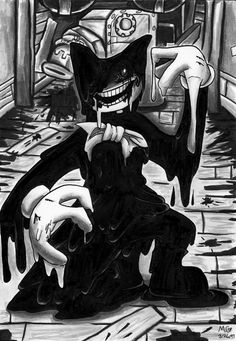 Bendy of Bendy and the Ink Machine by TwilightMoon1996