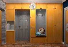 Делаем шкаф вокруг двери. Самые интересные идеи — В Курсе Жизни