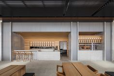 Zushi Barangaroo restaurant by Koichi Takada Architects, Sydney – Australia Outdoor Restaurant, Cafe Restaurant, Restaurant Design, Design Blog, Cafe Design, Store Design, Pool Bar, Commercial Design, Commercial Interiors