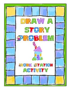 In this activity, students create their own story problems by drawing an operation card, number card, and setting card, and then writing a story pr... Math Classroom, Kindergarten Math, Classroom Ideas, Maths, Elementary Math, Kids Math, Classroom Resources, Fun Math Games, Math Activities