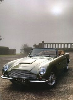 F&O Fabforgottennobility — frenchcurious: Aston Martin Short Chassis... Classic Motors, Classic Cars, Martin Short, Aston Martin, Antique Cars, Antiques, Vehicles, Mai, Concept