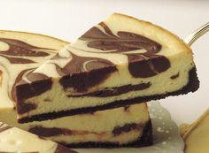 HERSHEY'S   Chocolate Marble Cheesecake
