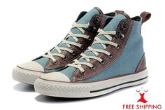 Converse All Star Chuck Taylor Shoes Hi-top Miller Limited Blue Canvas