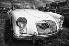 MGA is a sports car that was produced by MG from 1955 to 1962