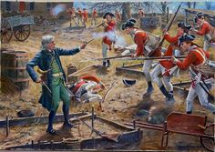 Last stand of a patriot American Revolutionary War, American War, American History, British History, Military Diorama, Military Art, Military History, Independence War, American Independence