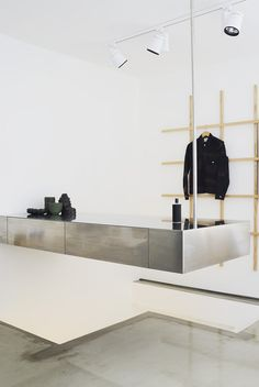 Swedish clothing label Our Legacy passes on strong brand DNA to first UK store in Soho... http://www.we-heart.com/2014/11/28/our-legacy-soho-london/