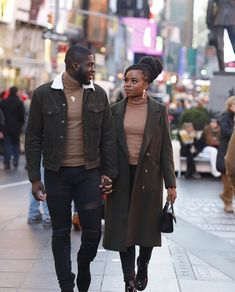 Matching Couple Outfits, Matching Couples, Black Love Couples, Black Relationship Goals, Stylish Couple, Fashion Couple, Mode Streetwear, Black Is Beautiful, Ideias Fashion