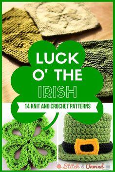 Luck o' the Irish: 14 St. Patrick's Day Patterns