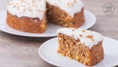 Carrot Cake With Macadamia Nuts Great Desserts, No Bake Desserts, Vegan Baking, Healthy Baking, No Bake Oreo Cheesecake, Austrian Recipes, Bread Cake, Bakery Recipes, Low Calorie Recipes