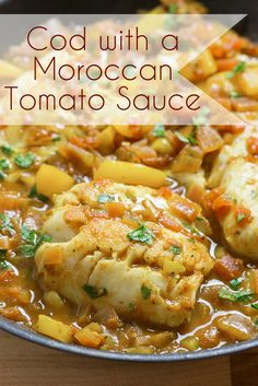Cod in a Moroccan Tomato Sauce - The Table