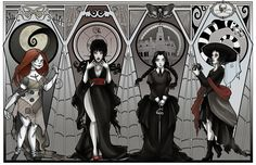 I'm almost in the mood for Halloween (Which goth isn't?) although the move stops me from decorating anything. So I might pu. Desenhos Halloween, Beetlejuice Cartoon, Tim Burton Characters, Tim Burton Art, Dibujos Cute, Goth Art, Creepy Art, Monster Art, Halloween Art