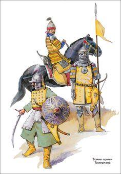 Timur's troops