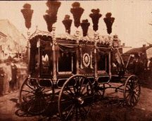 In the nineteenth century funerals became a lot more elaborate.