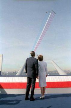 **Ronald and Nancy Reagan
