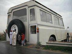 Huge Land Rover