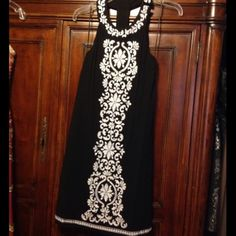saleINC International Concepts Dress Worn once, detail is amazing on the dress and very sexy back. INC International Concepts Dresses