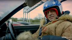 "Top Gear returns to @bbcamerica in May with new hosts including Matt Leblanc. ""Going to have a good long talk with the wardrobe department... with a stick... a big stick,"" says Matt in the promo."