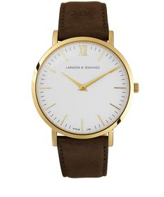 Larsson and Jennings Brown Lader Watch | Men's Watches | Liberty.co.uk For Liam