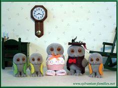 Sylvanian families owl family cute as!!!