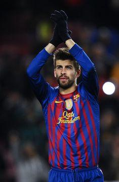 Barcelo Pique. #Soccer #Futball #Football #Barcelona