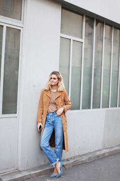 adenorah- Blog mode Paris: THE SUEDE TRENCH