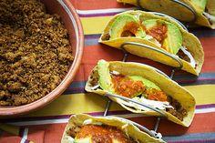 Tacos With Tofu Chorizo and Potatoes