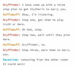 List of all hufflepuff and slytherin images and pictures. Browse latest and popular hufflepuff and slytherin ideas Harry Potter Puns, Harry Potter Marauders, Harry Potter Universal, Harry Potter World, Drarry, Dramione, Fandoms, Slytherin And Hufflepuff, Ravenclaw Memes