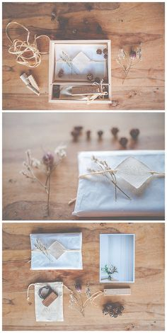 my personal packaging. handmade for lovely clients. natural. pure. with love.   wooden boxes, wooden paper, wooden usb, wood and plants. stamping, packaging.