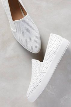Pilar Perforated Slip-On Sneakers