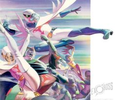 Battle of the Planets by Alex Ross