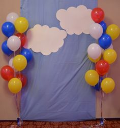 Baby Shower Photo Booth (Hot Air Balloon Theme)