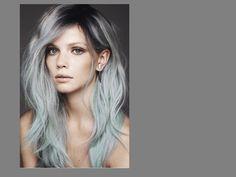 tinte de pelo gris   Pelo teñido otoño 2013 2014 ¡grey es lo que va!