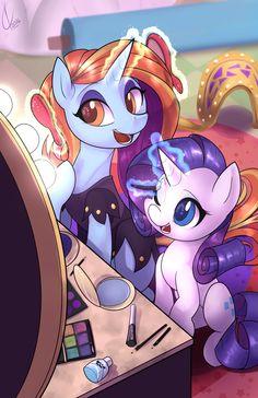 mlp art,my little pony,Мой маленький пони,фэндомы,Sassy Saddles,minor,Rarity,Рэрити,mane 6