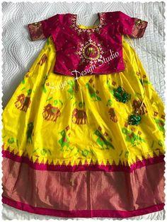 Baby Lehenga, Kids Lehenga Choli, Kids Dress Wear, Kids Gown, Kids Wear, Frocks For Girls, Kids Frocks, Baby Girl Party Dresses, Girls Dresses