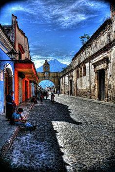 La Antigua ,Santa Catalina Arch Guatemala