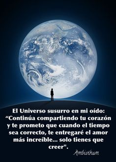 El Universo susurró en mi oído Spanish Inspirational Quotes, Inspiring Quotes About Life, Frases Yoga, Spiritual Manifestation, Neville Goddard, Spirit World, Spiritual Messages, Positive Inspiration, Sistema Solar