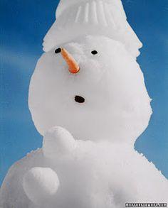 baking pans snowman