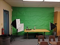 Kleinspiration: It's Easy Being Green (If You Have a Green Screen): a guest post by @Bill Hughes Hughes Selak