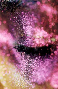 Glitter. Marilyn Minter