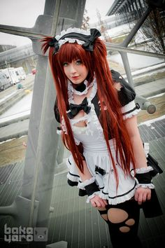 Airi from Queen's Blade cosplay by Kana