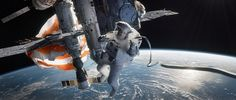 'Gravity' review: try not to scream / Director Alfonso Cuarón proves that the scariest world in sci-fi is our own.