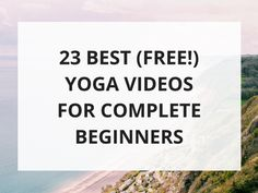 Discover the best beginner yoga videos on YouTube! In this post I'll share 23 amazing beginner yoga videos for complete beginners.