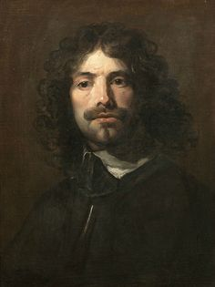 William Dobson (London 1611-1646), Portrait of the artist, bust-length, in a black tunic and white collar, oil on canvas, 62 x 47.2cm (24 7/16 x 18 9/16in).  Photo: Bonhams.
