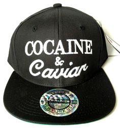 Cocaine   Caviar Snapback Hat Cap Snap Back bf160036b1db